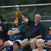 Shady Spring fans cheer on their side during their high school football game Friday in Hinton. (Chris Jackson/The Register-Herald)