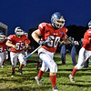 (Brad Davis/The Register-Herald) The Patriots take the field for their homecoming game against Summers County Friday night in Coal City.