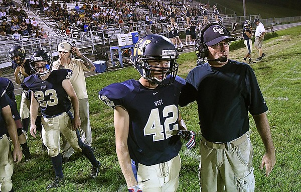 Greenbrier West vs Summers Co. at Greenbrier West High School in Charmco.<br /> Rick Barbero/The Register-Herald)