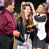 (Brad Davis/The Register-Herald) Abigail Lester is crowned the Summers County High School 2019 Homecoming Queen Friday night in Hinton.