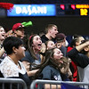 Oak Hill students cheer during their West Virginia State Championship Class AA Quarter Finals in Charleston on Thursday. (Chris Jackson/The Register-Herald)