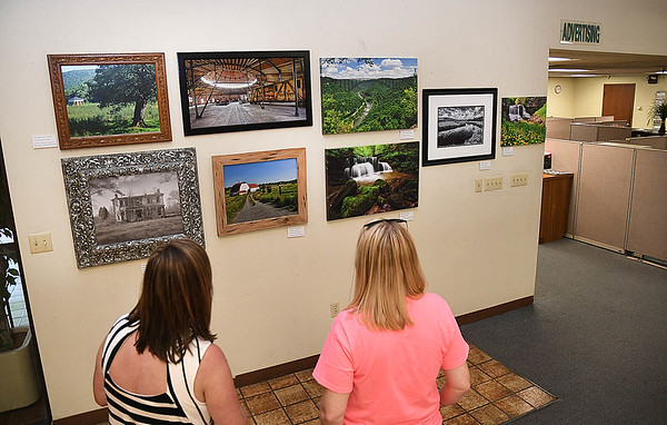 The Register-Herald Southern WV Professional Photographers Exhibit is currently hanging 34 images presented by, Steve Brightwell, Andrea Martin, Ed Rehbein, Rick Barbero, Jenny Harnish, Tim Tilley, Perry Bennett and Tom Hindman.<br /> (Rick Barbero/The Register-Herald)