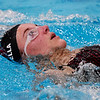 Woodrow Wilson's Ashlee Mainella competes in the 200 Meter IM during a tri-meet swim competition in Beckley on Monday. (Chris Jackson/The Register-Herald)