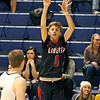 (Brad Davis/The Register-Herald) Liberty's A.J. Williams shoots from three-point range against Shady Spring January 16.