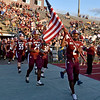 (Brad Davis/The Register-Herald) The Flying Eagles take the field for Riverside Friday night in Beckley.