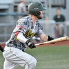 (Brad Davis/The Register-Herald) Miners batter Caleb Walls bats against Danville Saturday night at Linda K. Epling Stadium.