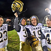 (Brad Davis/The Register-Herald) Shady Spring players (from left) Landon Cooper, Andrew Bolen, Bretton Wood and Aiden Blake strike poses as the Tigers go through pregame warmups on the road at Liberty Friday night in Glen Daniel.