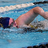 Shady Spring's Heather Rainey competes in the 50 Meter Freestyle during a tri-meet swim competition in Beckley on Monday. (Chris Jackson/The Register-Herald)