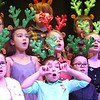 "Third graders at Maxwell Hill Elementary School, sang ""Blitzen's Boogie and When Santa Claus Gets Your Letter"" during their annual Christmas performance held at Woodrow Wilson auditorium Monday morning. Music teacher Vickie Pachuta directed each class from pre-k to 5th grade to sing two christmas songs each along with sing alongs from the audience.<br /> (Rick Barbero/The Registewr-Herald)"