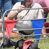 Swifty Swine Pig Racing held at the State  Fair in Fairlea Friday afternoon.<br /> (Rick Barbero/The Register-Herald)