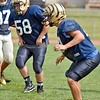 (Brad Davis/The Register-Herald) Shady Spring's Haven Chapman works through drills during practice Friday afternoon in Shady Spring.
