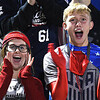 Shady Spring fans cheering on their team against Braxton Co. at Shady Spring High School.<br /> (Rick Barbero/The Register-Herald)