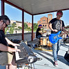 (Brad Davis/The Register-Herald) An encore performance of WV Collective's Hedwig and the Angry Inch to cap off Beckley's first ever Pride Picnic Saturday afternoon atop the Intermodal Gateway.