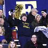 Greenbrier West fans cheer during Friday night's game against Midland Trail at Greenbrier West High School. (Jenny Harnish/The Register-Herald)