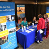 "Seniors visiting Raleigh County Commission on Aging's booth during, ""Senior Day Out"" held at Beckley-Raleigh County Convention Center. The event had, music bingo, vendors, door prizes, information about products and services for our senior community and was co-sponsored by, The Register-Herald and Raleigh County Commission on Aging.<br /> (Rick Barbero/The Register-Herald)"