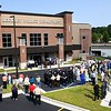 Ribbon cutting dedication ceremony held at the new Beckley Police Department headquarters on 501 Neville Street.<br /> (Rick Barbero/The Register-Herald)