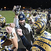 Shady Spring head coach Vince Culicerto, trying to spark his players in game against Braxton Co. at Shady Spring High School.<br /> (Rick Barbero/The Register-Herald)