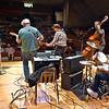 (Brad Davis/The Register-Herald) Charleston-based Blue Yonder perform during the Appalachian Jamboree August 22 at Woodrow Wilson High School.