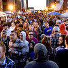 (Brad Davis/The Register-Herald) Peak time as the evening turns to night along Neville Street during Chili night Saturday.