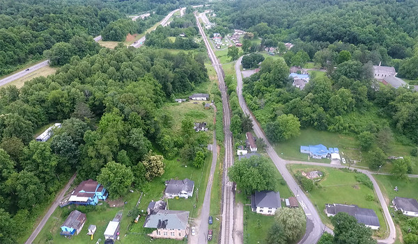 The town of Pax has gone from a population of more than 600 in 1940 to closing in on 150 as its businesses close and its population migrates elsewhere or passes away. (Jenny Harnish/The Register-Herald)