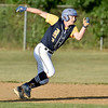 (Brad Davis/The Register-Herald) Summersville Post 131's Nate Hanshew plays during a Legion game against Beckley Post 32 June 27 at Woodrow Wilson High School.