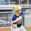 Greenbrier West's (11) swings at a pitch during their baseball game against Greater Beckley Christian in Beckley on Monday. (Chris Jackson/The Register-Herald)