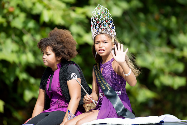 Parade participants attend the Labor Day Parade in Pineville on Monday. (Chris Jackson/The Register-Herald)