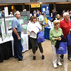 "Seniors listening to announcements during, ""Senior Day Out"" held at Beckley-Raleigh County Convention Center. The event had, music bingo, vendors, door prizes, information about products and services for our senior community and was co-sponsored by, The Register-Herald and Raleigh County Commission on Aging.<br /> (Rick Barbero/The Register-Herald)"
