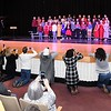 "Fifth graders at Maxwell Hill Elementary School, sang ""Carol of the Bells, Whits Christmas and Silent Night, during their performance held at Woodrow Wilson auditorium Monday morning. Music teacher Vickie Pachuta directed each class from pre-k to 5th grade to sing two christmas songs each along with sing alongs from the audience.<br /> (Rick Barbero/The Registewr-Herald)"