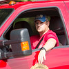 A parade participant attends the Labor Day Parade in Pineville on Monday. (Chris Jackson/The Register-Herald)