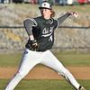 (Brad Davis/The Register-Herald) Oak Hill starting pitcher Bradley Lokant delivers against Independence Wednesday evening in Oak Hill.