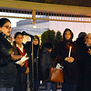 "Farrah Zahir, left, speaks during a candlelight vigil to honor those killed in Christchurch massacre in New Zealand last week at Word Park in Beckley on Thursday. ""If one of us are hurting than all of us are hurting regardless of your religion or color,"" she said. Around 50 people attended the vent, hosted by the Beckley Human Rights Commission. (Chris Jackson/The Register-Herald)"