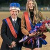 The homecoming king and queen are crowned at the ceremony during halftime. Chad Foreman for the Register-Herald.