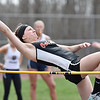 (Brad Davis/The Register-Herald) Oak Hill's Alina Mackowiak competes in the high jump during the Dickey's Invitational Friday afternoon at Independence High School.