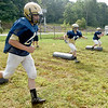 (Brad Davis/The Register-Herald) Shady Spring players work through drills during Tigers practice Friday evening in Shady Spring.