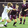 Woodrow Wilson hosted Huntington for their soccer match in Beckley on Tuesday. (Chris Jackson/The Register-Herald)