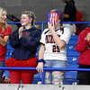 (Brad Davis/The Register-Herald) Indy students support their classmates on the court during State Volleyball Tournament action Friday morning at the Charleston Civic Center.