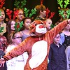 "Jace Canfield, dressed as a reindeer along with the whole third grade class at Maxwell Hill Elementary School, sang ""Blitzen's Boogie and When Santa Claus Gets Your Letter"" during their annual Christmas performance held at Woodrow Wilson auditorium Monday morning. Music teacher Vickie Pachuta directed each class from pre-k to 5th grade to sing two christmas songs each along with sing alongs from the audience.<br /> (Rick Barbero/The Registewr-Herald)"