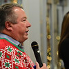 Richard Jarrell speaks during the 11th annual United Way of Southern West Virginia's Wonderland of Trees Auction at the J.W. And Hazel Ruby West Virginia Welcome Center in Mt. Hope on Friday. (Chris Jackson/The Register-Herald)