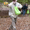 (Brad Davis/The Register-Herald) Gary Laird, 71, and Linda Laird, 62, bring the fight to the youngsters as they attack during an all-ages ASWV Nerf War Saturday at Lake Stephens.