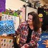 Connie Workman, pre-school teachers aid at Crescent Elementary School. reads a book to her students. Teachers create videos for them to watch at home with their parents during the coronavirus crisis.<br /> (Rick Barbero/The Register-Herald)