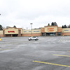 Parking lot of area stores are empty because they were force to close temporarily because of COVID-19.<br /> (Rick Barbero/The Register-Herald)
