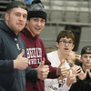 (Brad Davis/The Register-Herald) Woodrow students notice the camera during the game against Princeton Friday night.