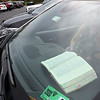Bible rests on the dahboard of a car in the parking lot Calvary Assembly of God Church in Beckley during Sunday morning service to celebrate the Easter holiday. The congregations listened on the radio inside their vehicles due to the  COVID-19 pandemic. <br /> (Rick Barbero/The Register-Herald)