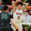 Oak Hill hosts Wyoming East during their basketball game in oak Hill on Wednesday. (Chris Jackson/The Register-Herald)