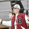 A Bluefield fans during the first half of their Big Atlantic Classic basketball game against James Monreo in Beckley on Monday. (Chris Jackson/The Register-Herald)
