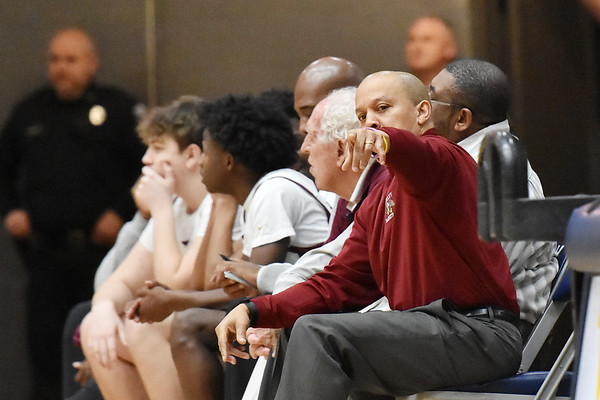 Woodrow WIlson hosted St. Albans in Beckley on Tuesday. (Chris Jackson/The Register-Herald)