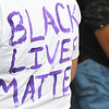 "Protest against racism and police brutality, titled ""In Solidarity, a Peaceful Protest,"" was held Thursday evening on Washington Street in Lewisburg.<br /> (Rick Barbero/The Register-Herald)"