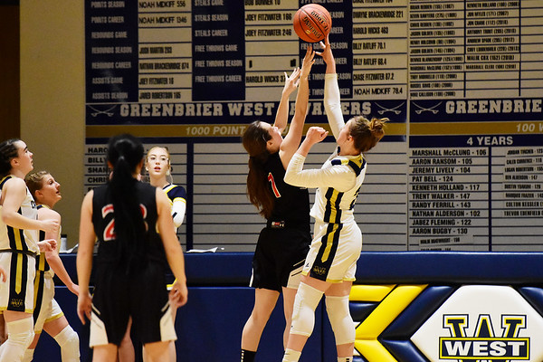 Greenbrier West hosted Greater Beckley Christian Thursday. (Chris Jackson/The Register-Herald)
