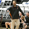 (Brad Davis/The Register-Herald) Summers County head coach Chad Meador against Morgantown during the final day of Big Atlantic Classic action Saturday at the Beckley-Raleigh County Convention Center.